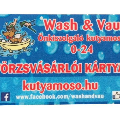 WASH & VAU CLUBCARD 11000 Ft