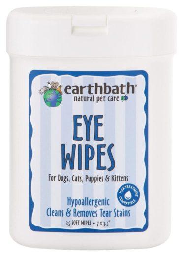 earthbath® Eye Wipes szemtörlő kendő 25 db