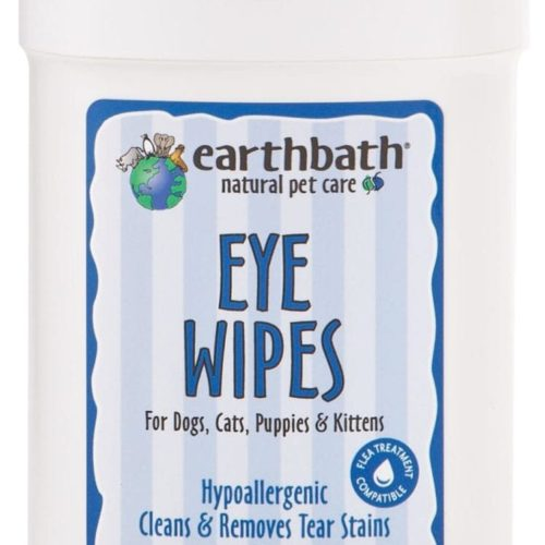 earthbath® Eye Wipes szemtörlő kendő 25 db