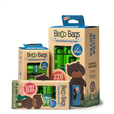 Beco illatosított lebomló kutyapiszok zacskó