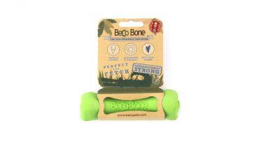 Beco jutalomfalattal tölthető csont - Beco bone - Zöld M